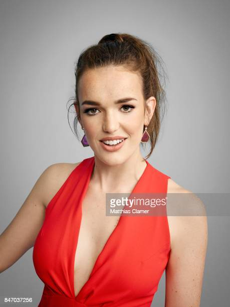 Actress Elizabeth Henstridge from 'Marvel's Agents of SHIELD' is photographed for Entertainment Weekly Magazine on July 23 2016 at Comic Con in the...