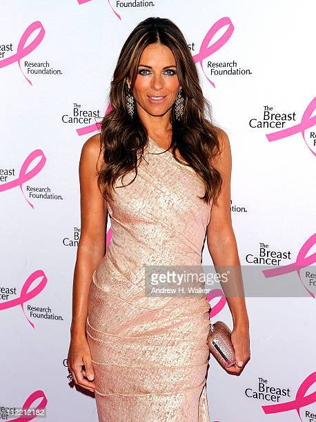 Actress Elizabeth Hurley attends the 2011 Breast Cancer Research Foundation's Hot Pink Party at The Waldorf=Astoria on April 14 2011 in New York City
