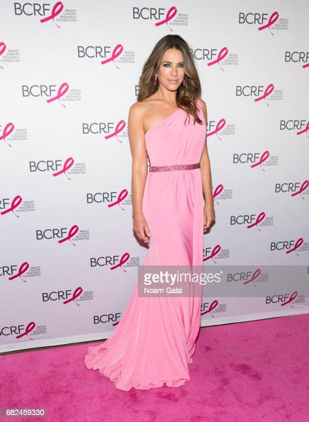 Actress Elizabeth Hurley attends the 2017 Breast Cancer Research Foundation Hot Pink Party at Park Avenue Armory on May 12 2017 in New York City