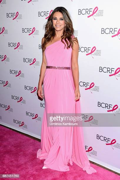 Actress Elizabeth Hurley attends The Breast Cancer Research Foundation's 2017 Hot Pink Party at the Park Avenue Armory on May 12 2017 in New York City