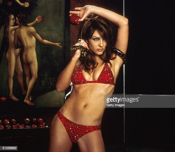 """Actress Elizabeth Hurley Stars In 20Th Century Fox's New Movie """"Bedazzled."""""""