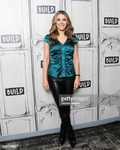 Actress Elizabeth Hurley visits Build Series to discuss 'The Royals' at Build Studio on March 7 2018 in New York City