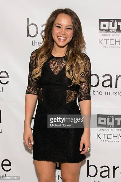 Actress Elizabeth Judd attends BARE The Musical Opening Night After Party at Out Hotel on December 9 2012 in New York City