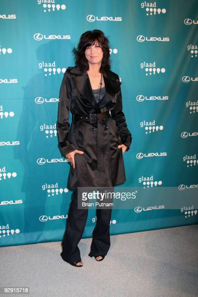 Actress Elizabeth Keener attends the 12th Annual GLAAD Tidings Seasons Greenings celebration November 8 2009 in Los Angeles California
