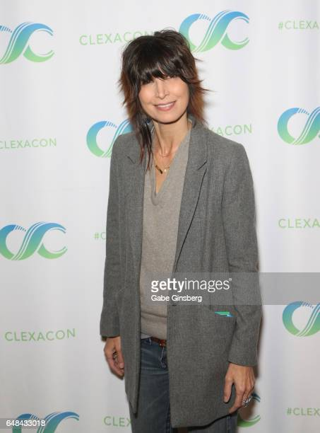 Actress Elizabeth Keener attends the ClexaCon 2017 convention at Bally's Las Vegas on March 5 2017 in Las Vegas Nevada