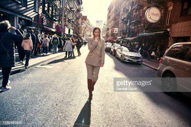 Actress Elizabeth Lail is photographed for Story Rain Magazine on December 7 2019 in New York City PUBLISHED IMAGE