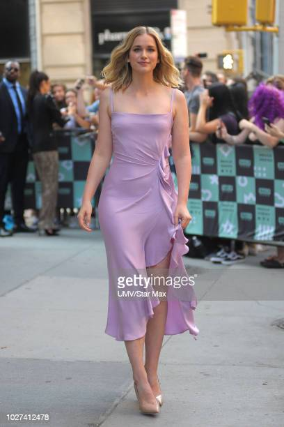 Actress Elizabeth Lail is seen on September 5, 2018 in New York City.