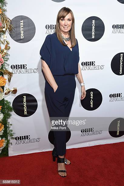 Actress Elizabeth Marvel attends the 61st Annual Obie Awards at Webster Hall on May 23, 2016 in New York City.