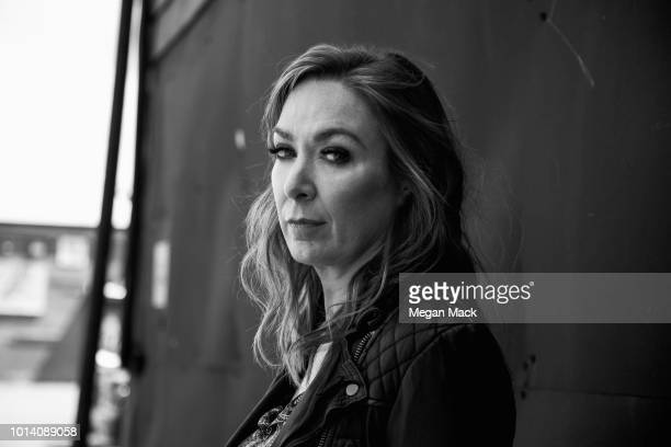 Actress Elizabeth Marvel is photographed for The Wrap on May 25 2018 in Brooklyn New York