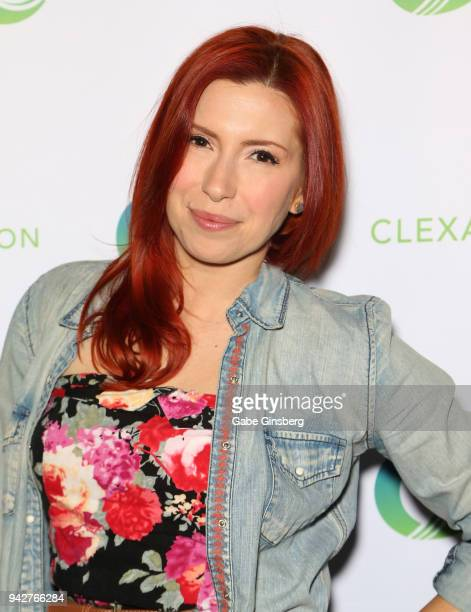 Actress Elizabeth Maxwell attends the ClexaCon 2018 convention at the Tropicana Las Vegas on April 6, 2018 in Las Vegas, Nevada.
