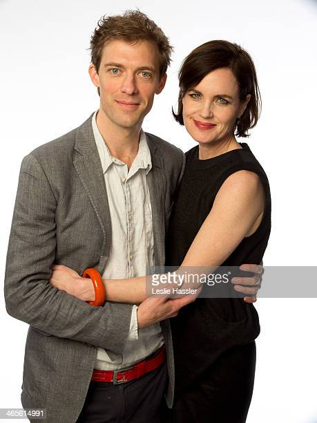 Actress Elizabeth McGovern and director Donald Rice are photographed on April 21 2010 in New York City