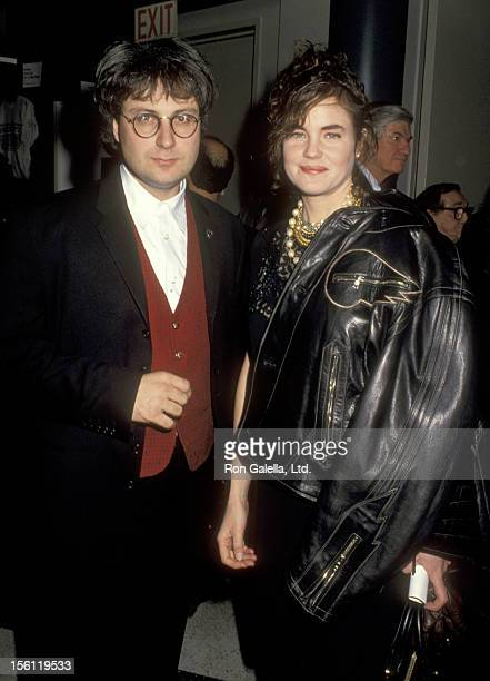 Actress Elizabeth McGovern and husband Director/Producer Simon Curtis attend the Screening of the Television Movie 'Suddenly Las Summer' on December...