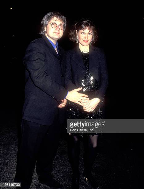 Actress Elizabeth McGovern and husband Director/Producer Simon Curtis attend the 'Wings of Courage' New York City Premiere on April 12 1995 at Sony...