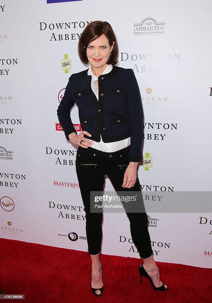 Actress Elizabeth McGovern attends the 'Downton Abbey' panel Q&A at The Writers Guild Theater on June 6, 2015 in Beverly Hills, California.