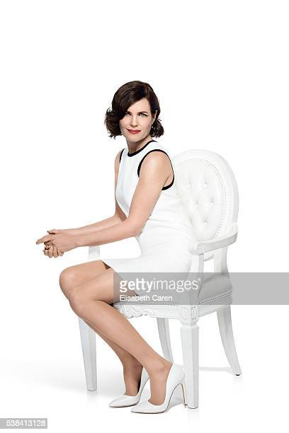 Actress Elizabeth McGovern is photographed for Emmy Magazine on December 15, 2015 in Los Angeles, California. )Photo by Elisabeth Caren/Contour by...
