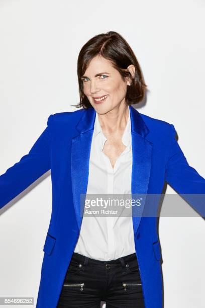 Actress Elizabeth McGovern is photographed for New York Times on August 24, 2017 at Chatwal Hotel in New York City.