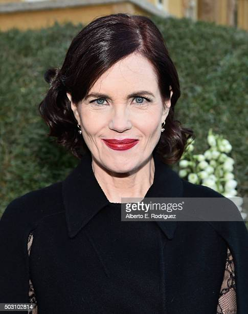 Actress Elizabeth McGovern participates in the 127th Tournament of Roses Parade presented by Honda on January 1, 2016 in Pasadena, California.