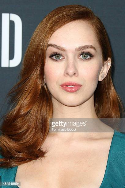 Actress Elizabeth McLaughlin attends the premiere of Amazon's series Hand Of God held at the Ace Theater Downtown LA on August 19 2015 in Los Angeles...