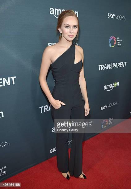 Actress Elizabeth McLaughlin attends the Red Carpet Premiere Screening For Season Two Of MultiGolden Globe And Emmy AwardWinning Amazon Original...