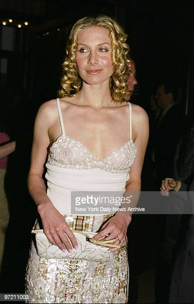 Actress Elizabeth Mitchell at premiere of the movie Frequency at the Ziegfeld Theater She stars in the film