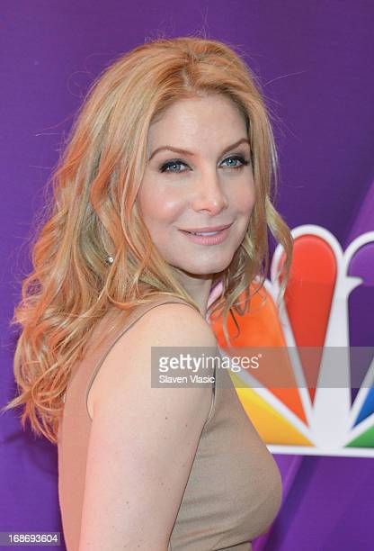 Actress Elizabeth Mitchell attends 2013 NBC Upfront Presentation Red Carpet Event at Radio City Music Hall on May 13, 2013 in New York City.