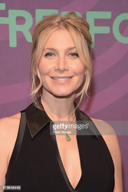 Actress Elizabeth Mitchell attends 2016 ABC Freeform Upfront at Spring Studios on April 7, 2016 in New York City.
