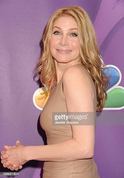 Actress Elizabeth Mitchell attends the 2013 NBC Upfront Presentation Red Carpet Event at Radio City Music Hall on May 13 2013 in New York City