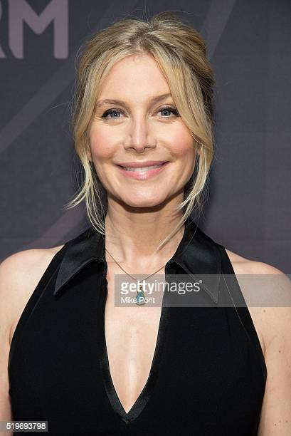 Actress Elizabeth Mitchell attends the 2016 Freeform Upfront at Spring Studios on April 7, 2016 in New York City.