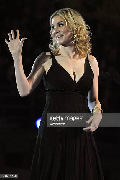 Actress Elizabeth Mitchell onstage during Spike TV's Scream 2009 held at the Greek Theatre on October 17 2009 in Los Angeles California