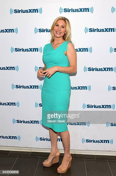 Actress Elizabeth Mitchell visits SiriusXM Studios on June 27, 2016 in New York City.