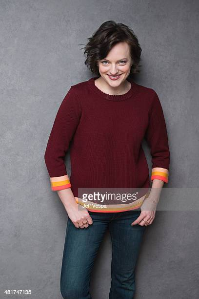 Actress Elizabeth Moss is photographed at the Sundance Film Festival 2014 for Self Assignment on January 25 2014 in Park City Utah