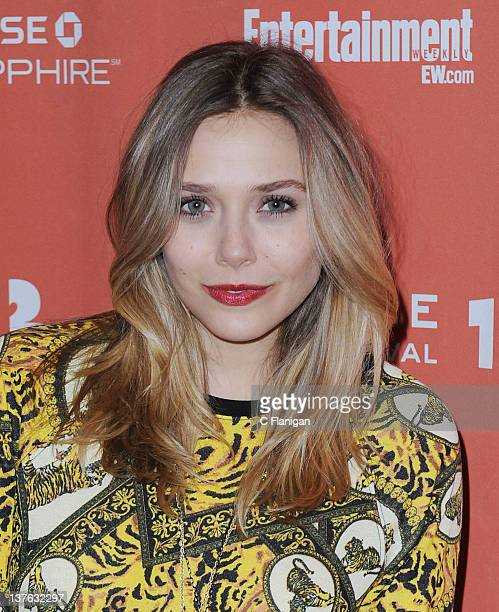 Actress Elizabeth Olsen arrives at Liberal Arts Premiere during the 2012 Sundance Film Festival at Eccles Center Theatre on January 22 2012 in Park...