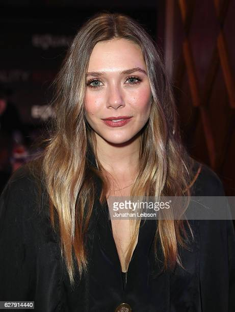 Actress Elizabeth Olsen attends Equality Now's third annual Make Equality Reality gala on December 5 2016 in Beverly Hills California