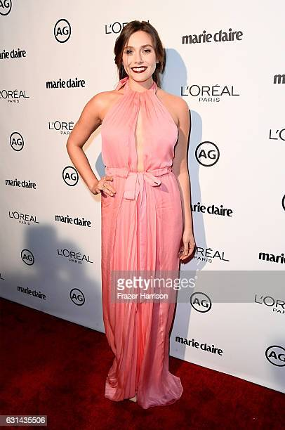 Actress Elizabeth Olsen attends Marie Claire's Image Maker Awards 2017 at Catch LA on January 10 2017 in West Hollywood California