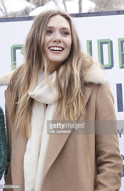 Actress Elizabeth Olsen attends panel discussion for Ingrid Goes West on January 20 2017 in Park City Utah