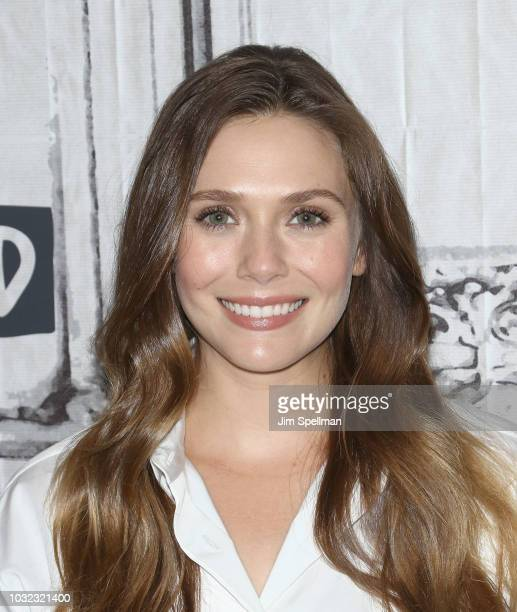 Actress Elizabeth Olsen attends the Build Series to discuss Sorry for Your Loss at Build Studio on September 12 2018 in New York City
