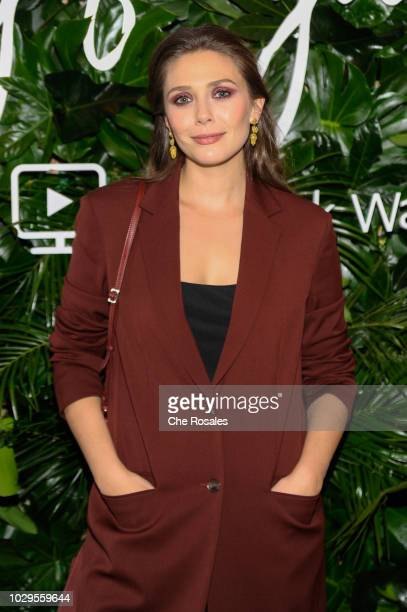 Actress Elizabeth Olsen attends the Sorry For Your Loss Facebook Watch Premiere at FIGO on September 8 2018 in Toronto Canada