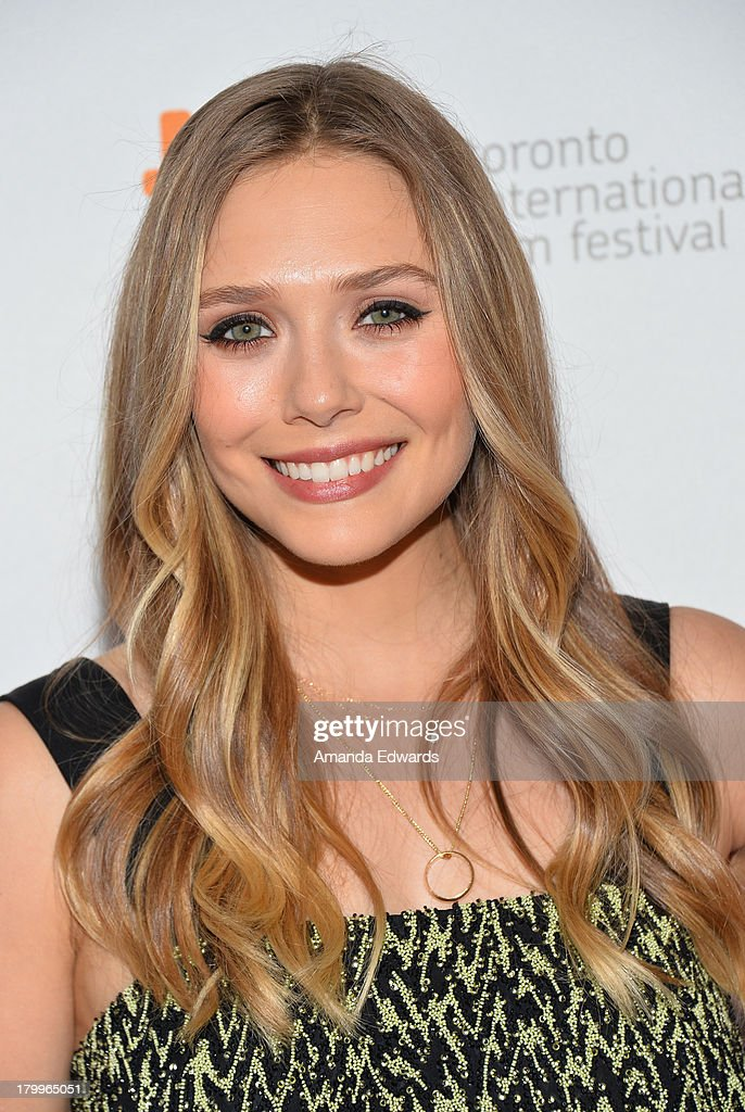 Actress Elizabeth Olsen attends the 'Therese' premiere during the 2013 Toronto International Film Festival at Isabel Bader Theatre on September 7, 2013 in Toronto, Canada.