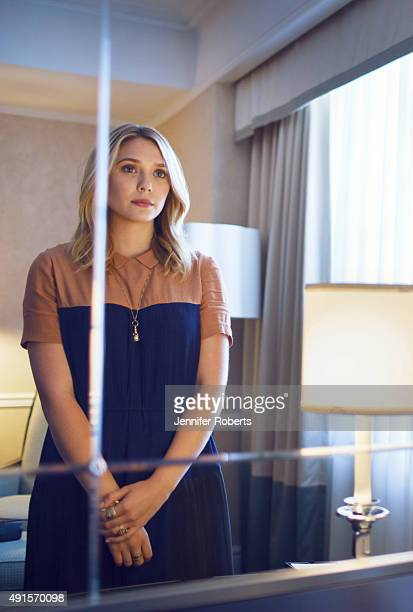 Actress Elizabeth Olsen is photographed for The Globe and Mail on September 8 2013 in Toronto Ontario