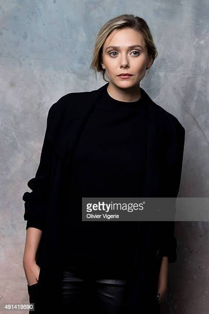 Actress Elizabeth Olsen is photographed on September 10 2015 in Deauville France