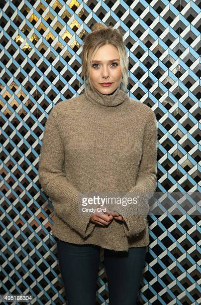 Actress Elizabeth Olsen of I Saw the Light poses for a photo during the Closing Night Screening Of I Saw the Light and Awards Presentation at...