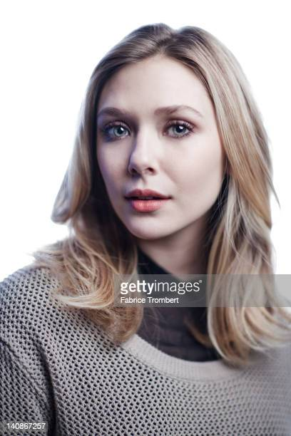 Actress Elizabeth Olsen photographed for the January 2012 issue of Venice Magazine in New York City