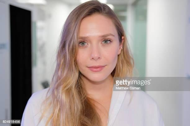 Actress Elizabeth Olsen visits SiriusXM Studios on July 31 2017 in New York City