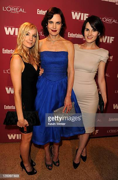 Actress Elizabeth Perkins and guests attend The 2011 Entertainment Weekly And Women In Film PreEmmy Party Sponsored By L'Oreal at BOA Steakhouse on...