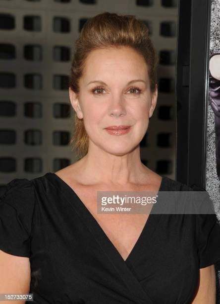 Actress Elizabeth Perkins arrives at the premiere of Universal Pictures And Gold Circle Films' Pitch Perfect at ArcLight Cinemas on September 24 2012...