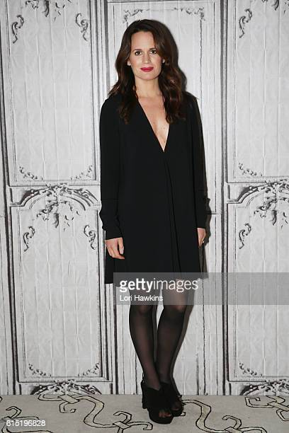 Actress Elizabeth Reaser attends the Build Series to discuss the film 'Ouija Origin Of Evil' at AOL HQ on October 17 2016 in New York City