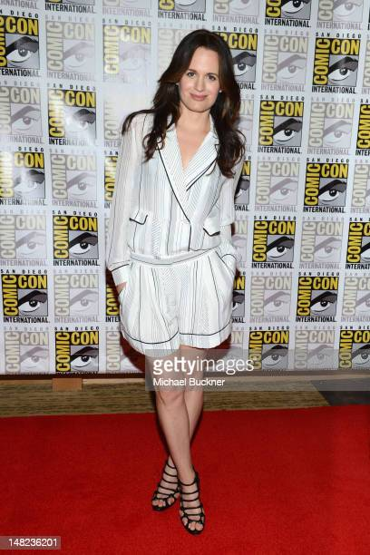 Actress Elizabeth Reaser attends The Twilight Saga Breaking Dawn Part 2 during ComicCon International 2012 at San Diego Convention Center on July 12...