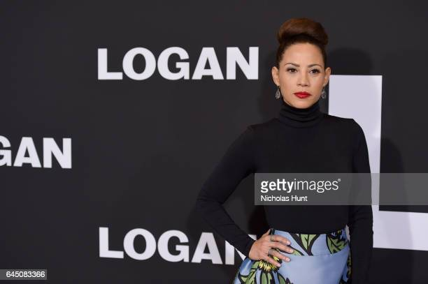 Actress Elizabeth Rodriguez attends the 'Logan' New York special screening at Rose Theater Jazz at Lincoln Center on February 24 2017 in New York City