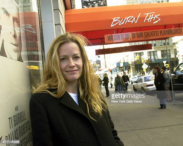 Actress Elizabeth Shue has taken to the stage in the Union Square Theatre's production of Burn this previously starring Catherine Keener and Edward...