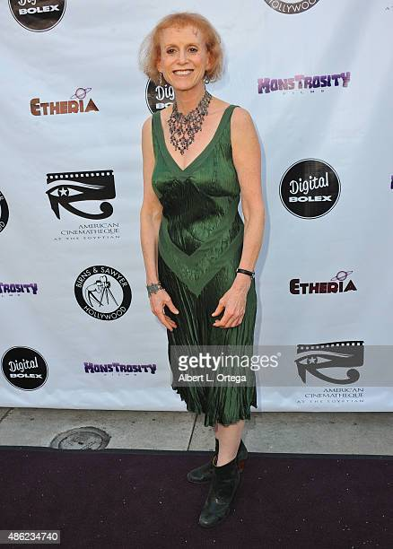 Actress Elizabeth Stanley arrives for the Etheria Film Night 2015 held at American Cinematheque's Egyptian Theatre on June 13, 2015 in Hollywood,...
